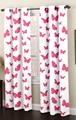 floral impresso cortina