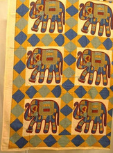 elephant printed bedsheets beach, picnic, dorm curtains, wall hangings tapestry in best price