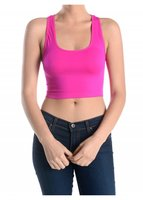 SOFRA SEAMLESS CROP THANK TOP