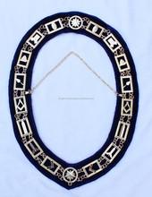 Masonic Master Mason Gold Chain Collar Regalia Metal KLI-2000