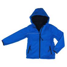 New European style simple Kid's soft shell jacket, wholesale children softshell jackets