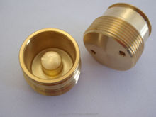 High performance and High precision brass components with multiple functions made in Japan