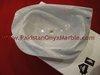 ZIARAT WHITE (CARRARA WHITE) MARBLE SINKS AND BASINS FOR BATHROOMS