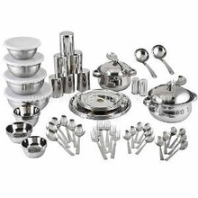 Stainless Steel Crockery,high quality stainless steel crockery,luxury crockery.
