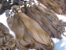 wave bulk hair for wig making