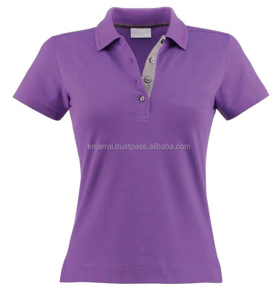 2015 design color combination 100 cotton polo t shirt cute for Polo shirt color combination