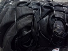 Bagomatic Bladders, Green Tires, unvulcanized rubber compound