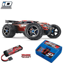 Traxxas E-Revo Brushless Monster Truck Combo with iD Technology TRA56087-1