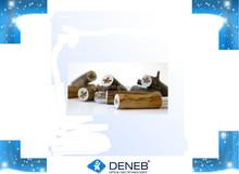Customized Logo Print/Carved Promotional/Promotion Cylinder Shape Engraving Logo Wooden/Wood Usb Flash Drive