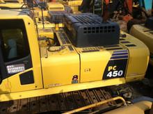 Used Komatsu PC450-8 crawler excavator