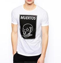 Custom Printed Styles Men's Summer White T-shirt