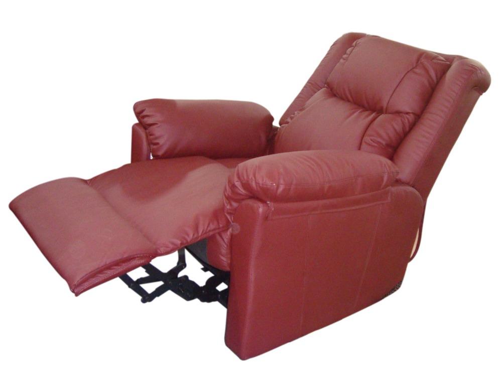 HYE-661 PU burgundy recline
