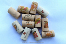Multi Colored Cork Stoppers