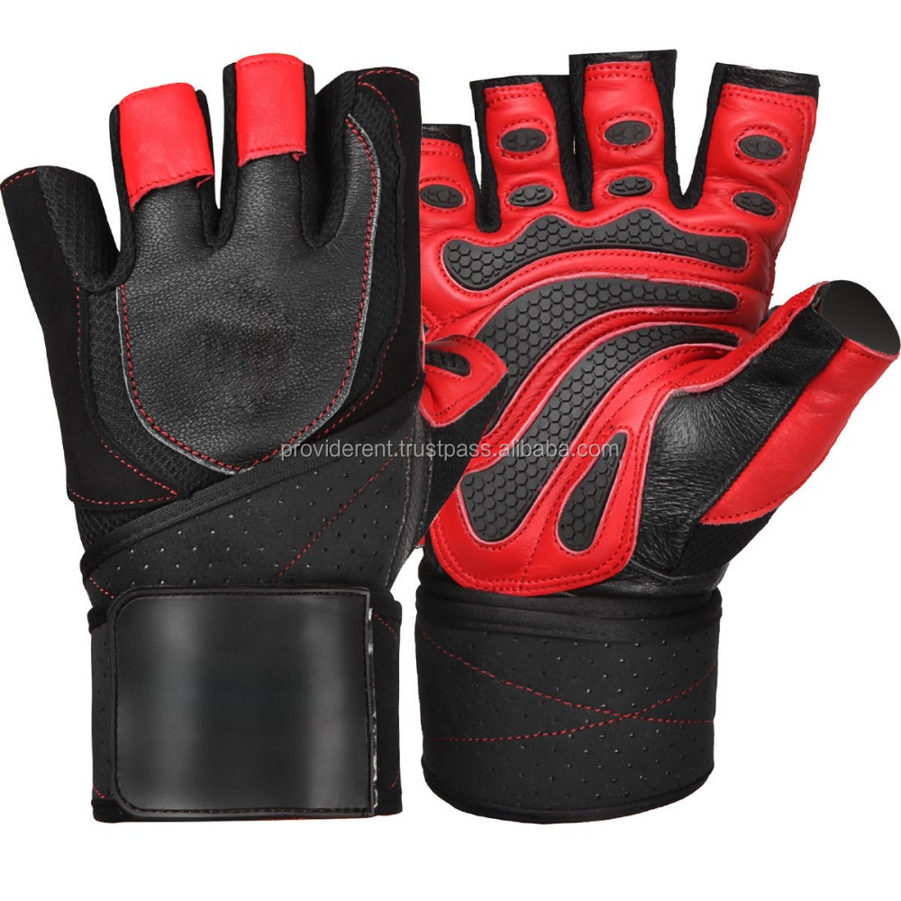 Personalized Fitness Gloves: Gym Exercise Gloves / Leather Weight Lifting Gloves