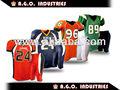 En todo el mundo sarga tackle uniformes de fútbol americano/ropa de fútbolamericano