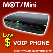 Wholesale Wireless Telephone System, Reliability PBX VOIP Phone MOT/Mini, 6units 2calls FAX Function.