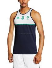 men's top brand quality gym singlet
