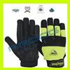 mechanical working gloves/oil gas mechanics gloves/Fiber Working Mechanic Gloves Impact/