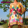Party Beachwear/Party Ladies kaftan Tunic Maternity Hippie Boho Cocktail Dress S-XL Plus Sizes