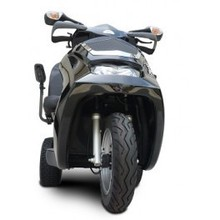 Low Selling Price + Free Shipping For EV Rider Royale 3 Electric 3 Wheel Scooter Silver