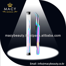 wholesale top quality stainless tweezers,hot sold eyelash extension kits