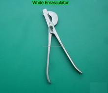 """White Emasculator 12"""" Castation veterinary Instruments German Quality/Animal & Veterinary Instrument"""