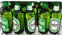 Holland made Heinikiins Premium Beer