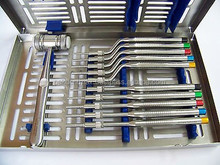 Sinus Lift Kit Straight Off Set Osteotomes Concave Mead Mallet Cassette/ High Quality Dental Instruments From Pakistan