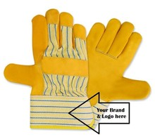 LEATHER SAFETY GLOVES / INDUSTRIAL GLOVES