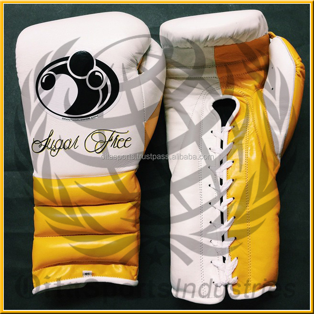Grant boxing gloves mayweather