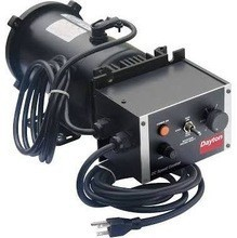 DISCOUNT SALES Dayton 1F796 Adjustbl Speed Motor, Perm Magnet DC, 3/4