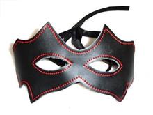 Real Leather Eye Mask Blind Fold, Bondage Fetish, Unisex Night Party Wear