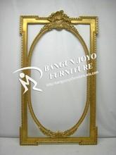 Vintage Antique Wooden Finish Design Decorative Wall Mirror