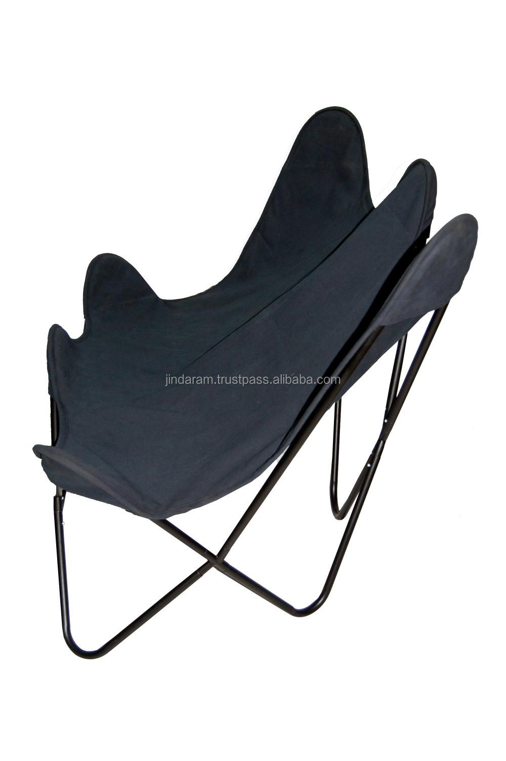 Scandinavian Canvas Double Butterfly Chair.JPG