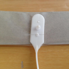 White Handle with cardboarded Rigid Handle Bag Packaging bag Plastic bag made in Vietnam