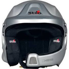 Stilo WRC DES Composite Racing Helmut w Rally Electronics and M6-HNR Nut