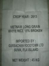 VIETNAMESE LONG GRAIN WHITE RICE 15% BROKEN