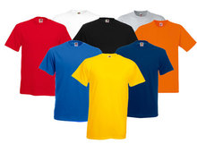 White t-shirts, 120 gms, round neck, in stock for inmediatelly delivery, CIFO Mexico.