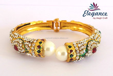 Bollywood bangles bracelet - indian artificial bangle pearl bracelets -wholesale bangles jewellery