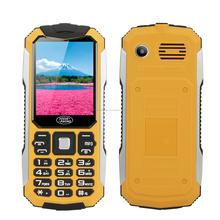 "Teléfono de barra "" Vogue S6 "" - gsm, Dual sim, 2600 mAh, bluetooth, 2.4 pulgadas de la pantalla, linterna, cámara (amarillo)"
