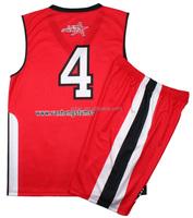 Healong No Logo Wholesale sublimated basketball uniform suit basketball warm up suit