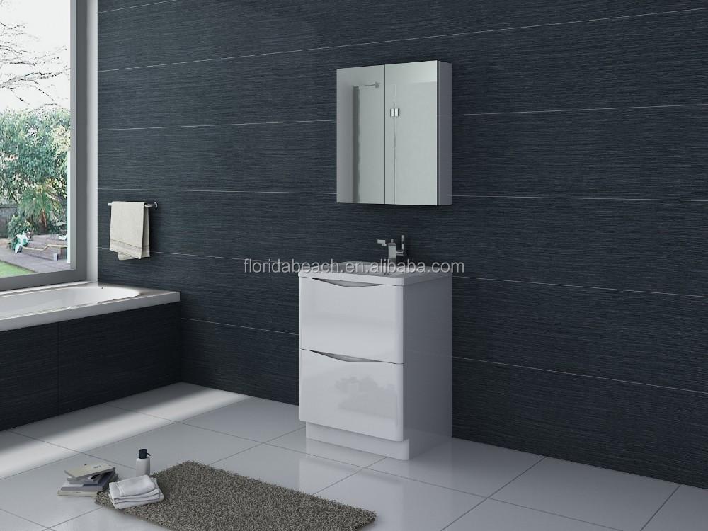 600mm 현대적인 욕실 세면대 단위 분지- 욕실 가구 저장 장치-욕실 ...