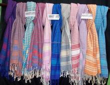 Turkish fouta with colors club beach peshtemals hand towel hammam fouta high ends beach towels wholesale