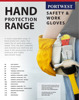 Safety PU Latex Nitrile PVC Impact Chemical Thermal Cut Weld Grip Protrction Gloves