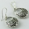 Shiny Harmony !! Filigree 925 Sterling Silver Earring, Silver Jewellery, Indian Fashion Silver Earring