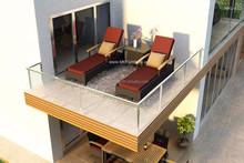 Resin Rattan Design Outdoor Sun Lounger - Patio Furniture - Outdoor Furniture - Patio Outdoor Furniture