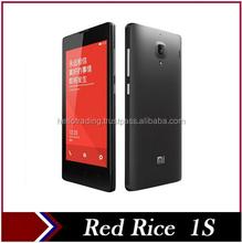 """Original Xiaomi Red Rice 1S WCDMA 3G Qualcomm MSM8228 Quad Core Dual SIM Android Smartphone Hongmi Redmi Mobile Phones 4.7"""" GPS"""
