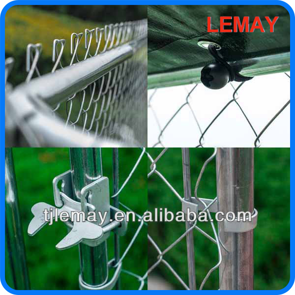Hot sale outdoor best cheap chain link dog kennel