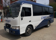 2004Y Hyundai County Mini Buses Low Prices for Sale 120HP