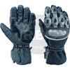 fancy leather gloves leather gloves Handschuh New Style Leather Motor Bike Racing Gloves